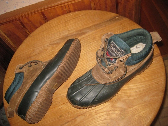 Donner Mountain Leather And Rubber Winter Shoes Mens 9 D