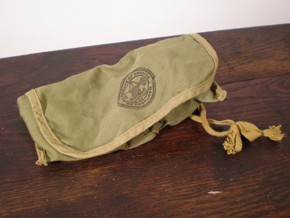 1930's Boy Scout Fire Starting Kit