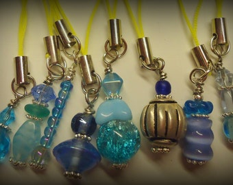 Ayla's Bead Creations Cell phone charm set party favor sleepover gifts