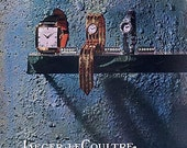 Vintage French Ad - Jaeger LeCloutre  Montres 1957 Watches