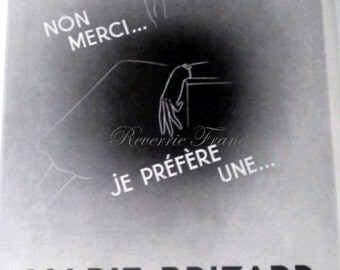 Original French Vintage Ad  Marie Brizard 1936