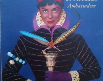 Vintage French Ad- Draeger Femme 1954