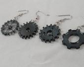 Simple Gear Acrylic Earrings