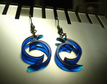Twister Acrylic Earrings