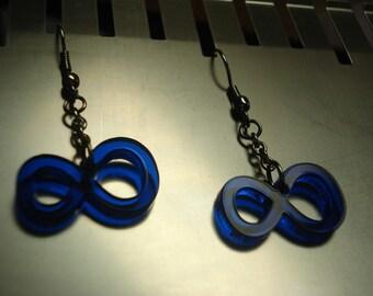 Infinity Symbol Acrylic Earrings