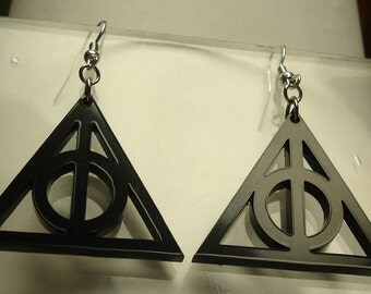 Harry Potter, Deathly Hallows Inspired Earrings