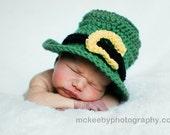 St. Patrick's Day Hat - Newborn Photography Prop