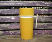 Pint Size Orange Vintage Thermos - HOLD for Christie
