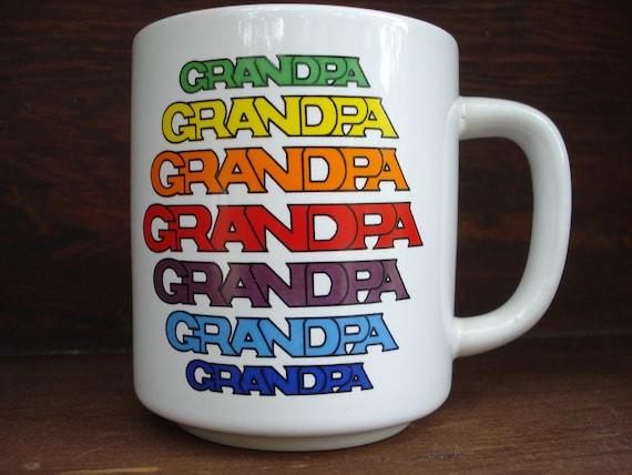 Retro Grandpa Coffee Mug