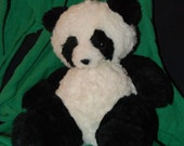 Microwavable hot/cold corn animals Black & White Panda Bear