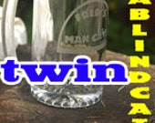Twin Etched Beer Mug-Stein - Personalized Man Cave