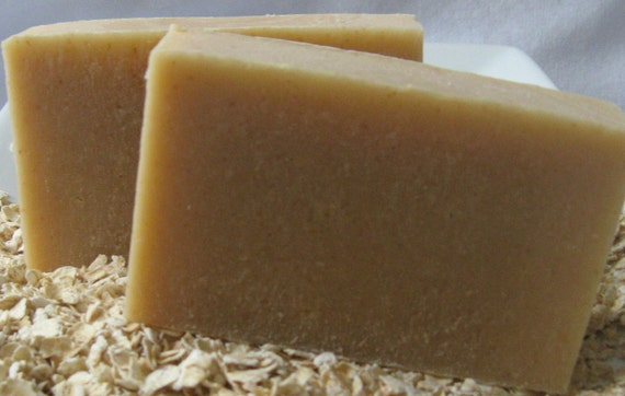 all NATURAL GOAT milk OATMEAL soap