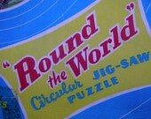 Round The World circular jigsaw puzzle