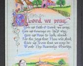 O Lord we pray - original watercolour artwork (6)