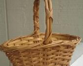 SALE Vintage Tiny Basket