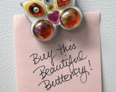Beautiful Butterfly Mini Mosaic Magnet