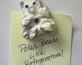 Polar Bear Mini Mosaic Magnet