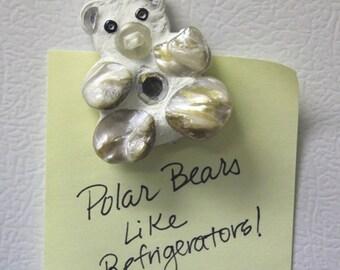 Polar Bear Mini Mosaic Magnet