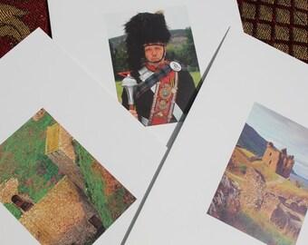 Set of 6  Royal Vintage Blank Cards