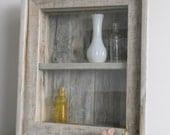 Shabby Chic Wall Cabinet Shelf Cupboard