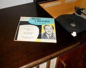 Vintage Bing Crosby Record LP Going My Way Decca 45 Music
