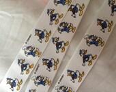 1 yard of donald duck vintage ribbon rare 1980s dead stock new deadstock retro cartoon