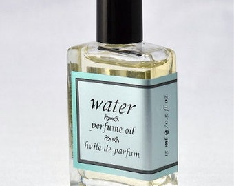 WATER PERFUME OIL - 15 ml/0.5 oz - Editor's choice in DailyCandy.com's Weekend Guide