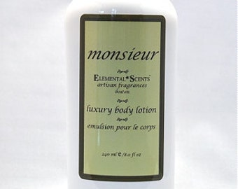 MONSIEUR Body Lotion - 250 ml/8.0 oz