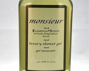 MONSIEUR Shower & Bath Gel - 250 ml/8.0 oz