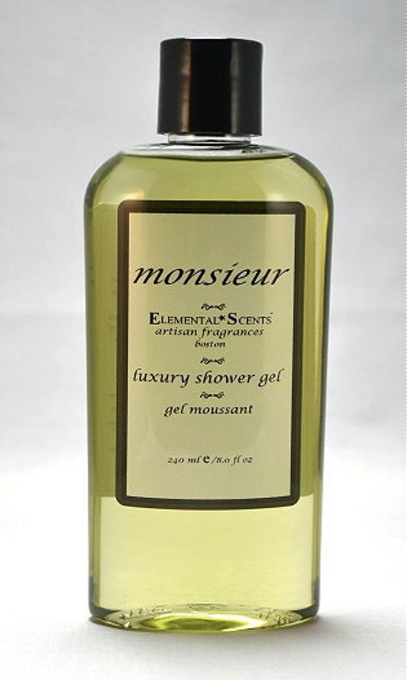 MONSIEUR Shower & Bath Gel - 250 ml/8.0 oz