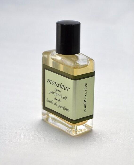 MONSIEUR Perfume Oil - 15 ml/0.5 oz
