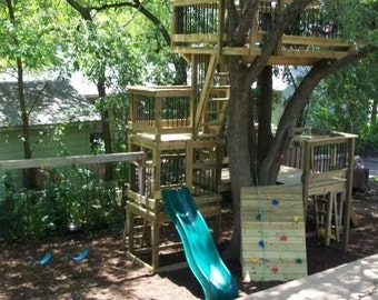 tree house,fort,playscape,club house