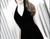 Little Black Dress by Bergdorff Goodman Velvet Vintage