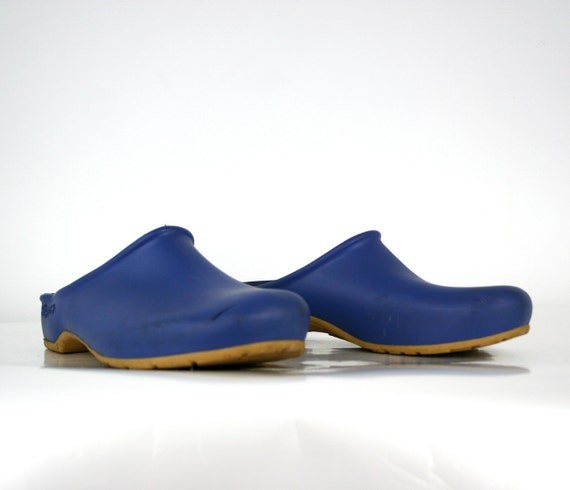Vintage Mud Clogs in Blueberry Womens Size US 10 Euro 41