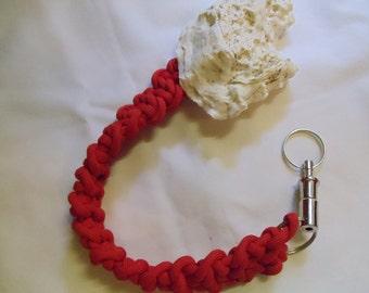 """10"""" Red Guitar Bar Key Ring, key ring, red, ring"""