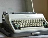 RESERVED. Vintage Olympia Manual Typewriter