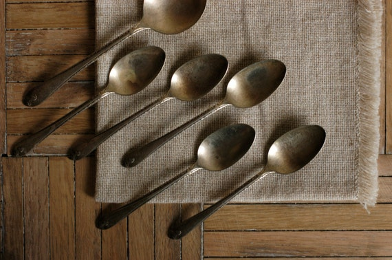 Vintage Spoon Set by WM Rogers & Sons