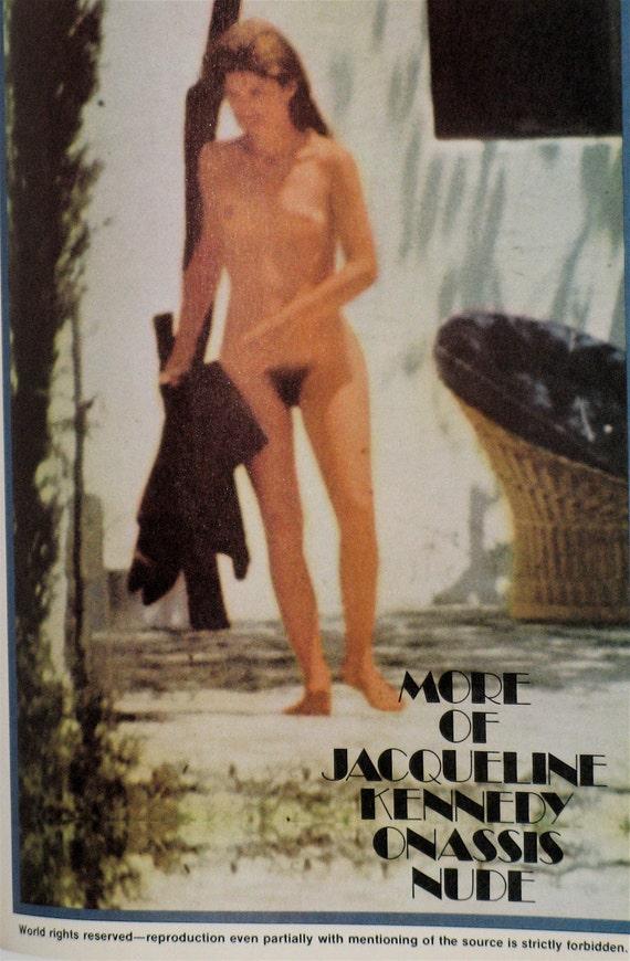 Jackie nude naked playmen hustler