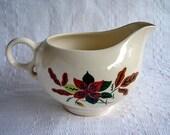 Vintage American Pottery Creamer/Sauce Boat