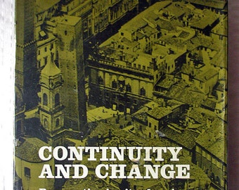 Architecture Book- Continuity and Change by Alexander Papageorgiou