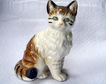 Vintage Nippon Yoko Boeki Japanese Ceramic Cat