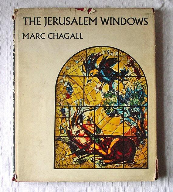 Art Book- The Jerusalem Windows by Marc Chagall