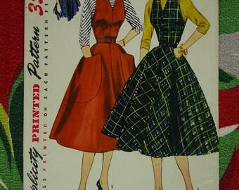 Vintage Pattern 1952 Simplicity No.3968 Jumper,Dress,Blouse Sz.13