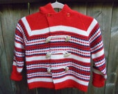 Made in England toggle hooded sweater for your little man. Sz. 4
