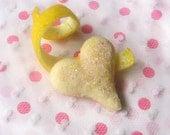 Pink Lemonade Butter Cookies 6 Dozen Mini Sparkle Hearts
