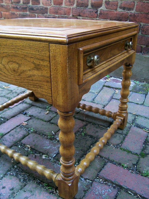 Vintage 1970 S Drexel Chartwell End Table With By