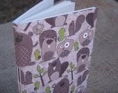 woodland creatures paper notebook