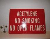 No Smoking Sign Vintage