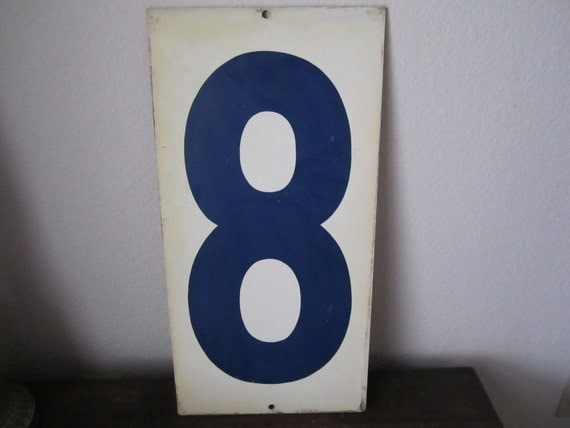 Industrial Number Eight / Nine Tax Inc Double Sided Vintage