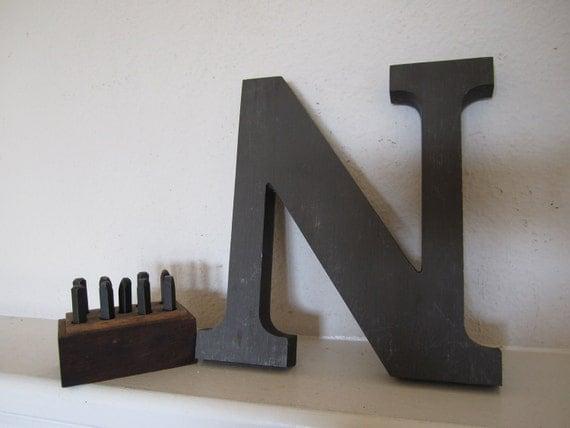 Letter N Metal